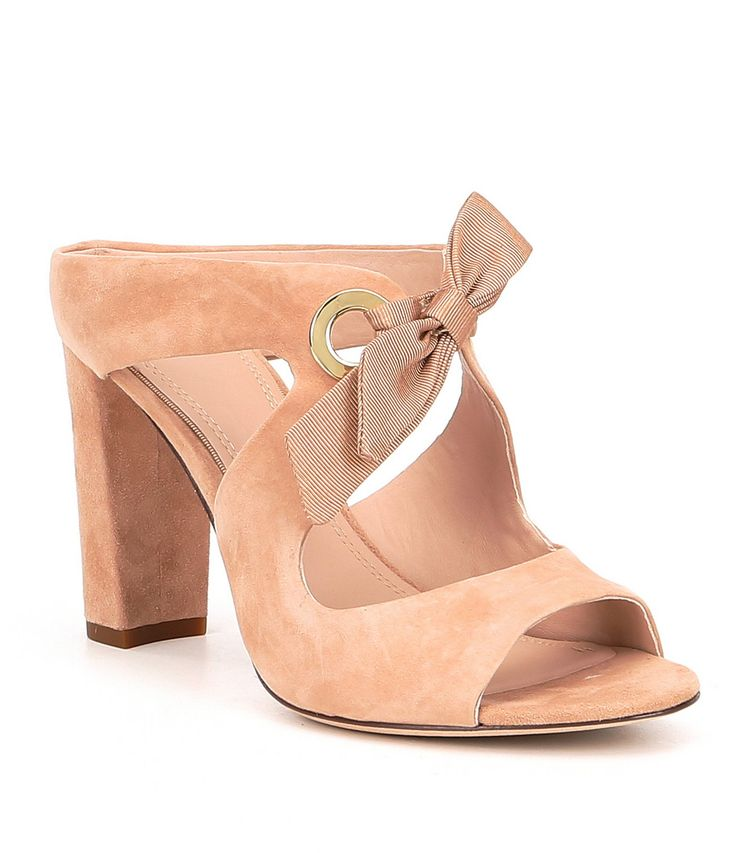 Shop for AD & Daughters Hersing Suede Ribbon Tie Dress Slides at Dillards.com. Visit Dillards.com to find clothing, accessories, shoes, cosmetics & more. The Style of Your Life.