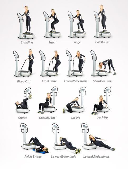 62 best Exercise on Vibration Machine images on Pinterest