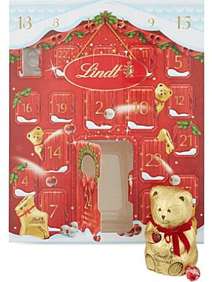 LINDT Lindt adorable bear advent calendar 250g