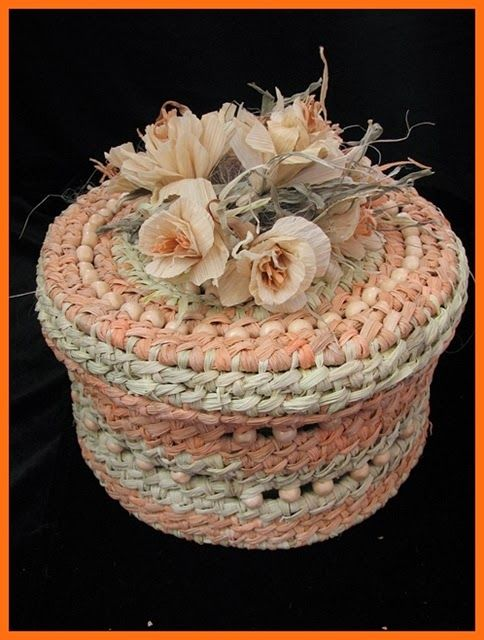 ПЛЮШКИН ДОМ: Плетение из кукурузных листочков