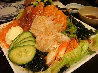 sushimi salad - sushi suma surry hills
