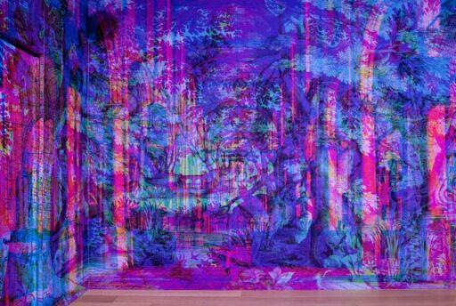 Papel en RGB usado por Onikot y Padilla en su proyecto de reforma del restaurante La Prudencia (Barcelona)