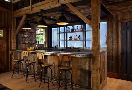 basement saloon ideas | Western Saloon Style Décor Ideas