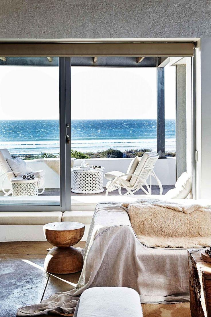 Amenajare relaxată într-o casă de pe plajă din Cape Town Jurnal de design interior