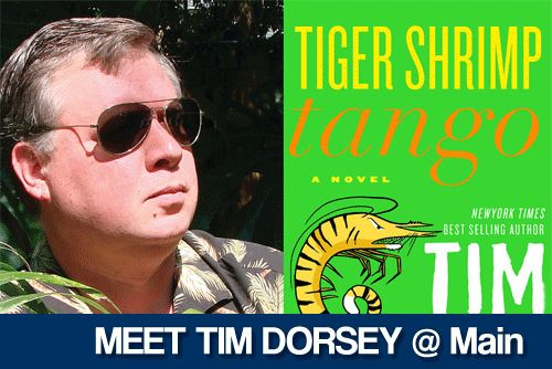Tim Dorsey is back with a new adventure for his serial killer hero, Serge Storms. TheNew York Times bestselling author will talk about his ...click through to read the article