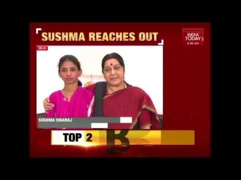 Sushma Swaraj Appeals For Deaf-Mute Girl Geeta To Help Trace Her Parents India Today