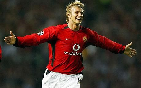 DAVID BECKHAM: The specialist