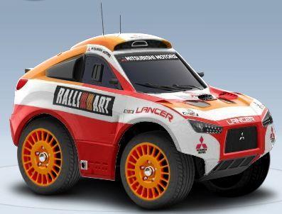 2011 Mitsubishi Racing Lancer Dakar Edition [MRX09]