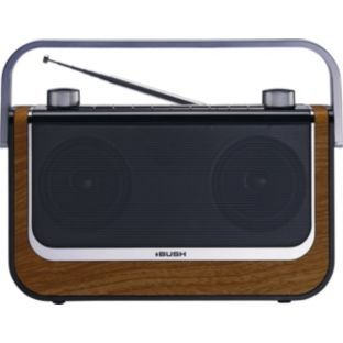Bush Outline Stereo DAB Radio - Wood.