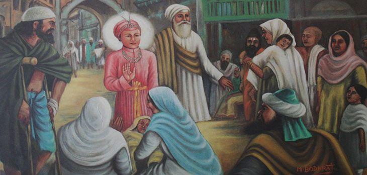 Guru Har Krishan Ji was the second and the youngest son of Guru Har Rai Ji and Mata Krishan Kaur, was born of in 1656 at Kiratpur.  Guru Har Krishan Ji was appointed Guru when he was five years and three months old.