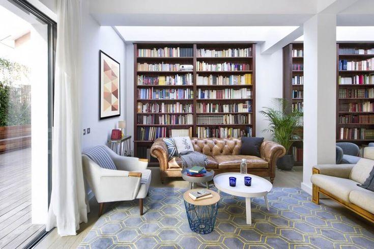 Переделка лофта на чердачном этаже в оазис для любителей книг http://archiq.ru/peredelka-lofta-na-cherdachnom-etazhe-v-oazis-dlya-lyubitelej-knig/