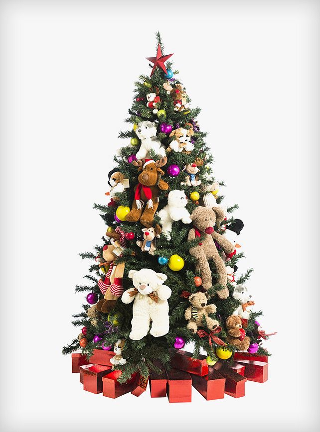 toy christmas tree christmas tree hire rental toys - Christmas Tree Rental