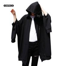 Tag a friend who would love this!|    Newest arrival Oversize High Street Iron Ring Sweatshirt Men Hip Hop Loose Long Sleeve Hooded Sweatshirt Jacket Long Style Cardigan Hoodie Coat now for sale $US $58.99 with free delivery  you will discover this amazing piece plus far more at our favorite online store      Buy it now in the following…