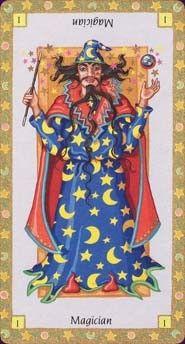 Magician Astro tarot pack