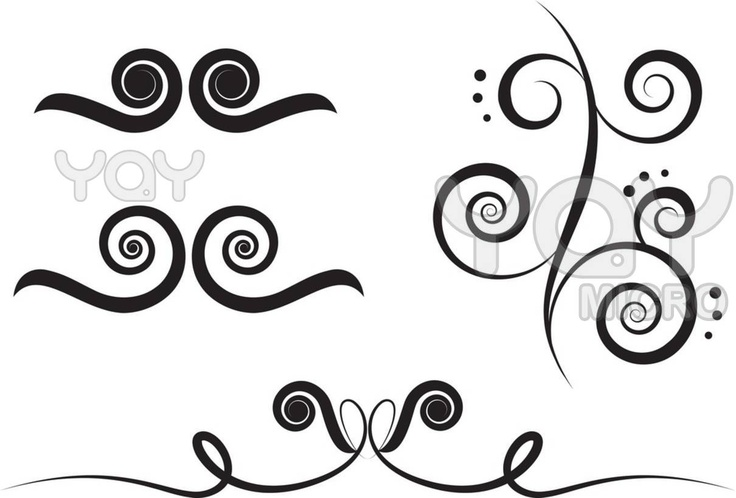 262 Best Images About Swirls On Pinterest: 90 Best Images About Pottery- Transfers, Decals On