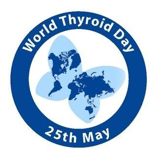 World Thyroid Day. 1 in 10 people are suffering from a thyroid problem. Visit my blog to read my experience with Hashimoto's disease