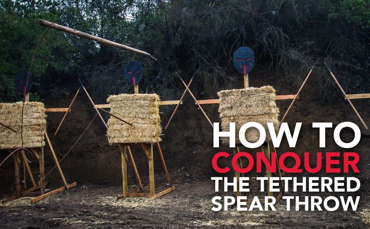 How to conquer the tethered spear throw | Spartan Race