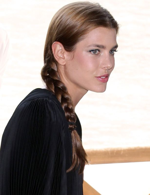 El Estilo Real De Carlota Casiraghi Celebrities Hair
