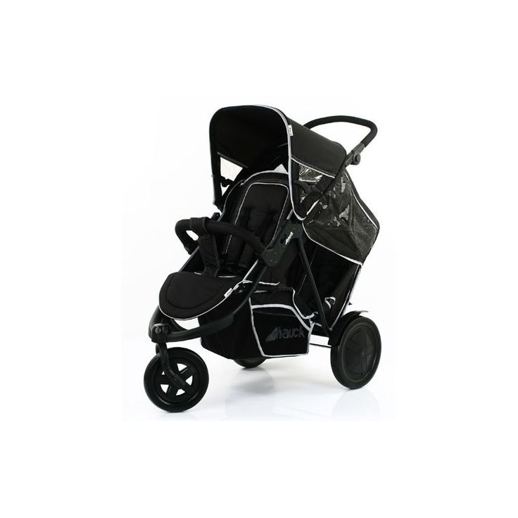 Hauck Freerider Tandem Pushchair-Black (New) The Freerider with its two separate seat units is an extremely practical double buggy. When you take the second seat unit off - which is also easy to assemble -, you can turn your double buggy into a  http://www.MightGet.com/march-2017-1/hauck-freerider-tandem-pushchair-black-new-.asp