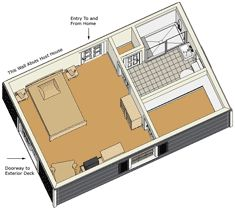 Affordable mother in law suite unit mil suite for Modular in law suite additions