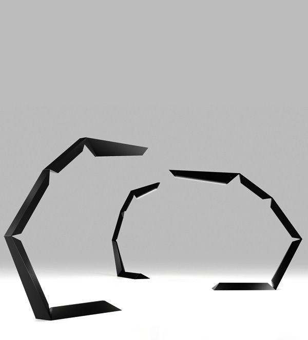 LED table lamp by designer Michael Samoriz - Very cool