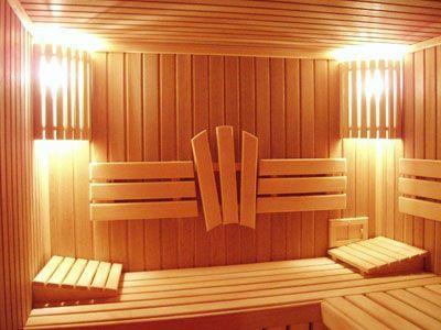 баня внутри