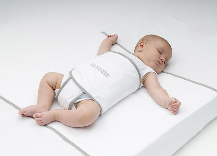 We are in LOVE with the Snoozzz Sleep Positioner - Safe Sleep Wrap!