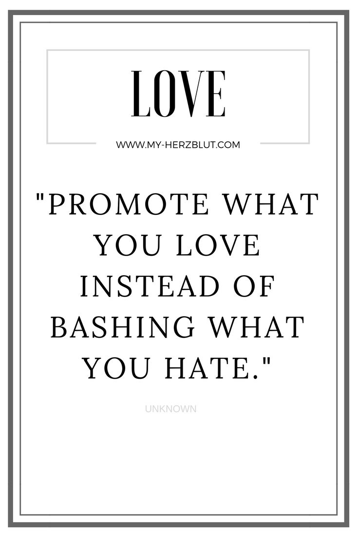 Promote what you #love