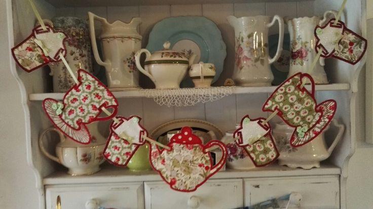 Teapot bunting