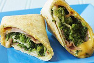 Viande et légumes délicieusement emballés dans une tortilla roulée... Emballant, non?
