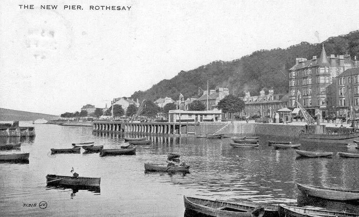 The Albert Pier, Rothesay (no date).
