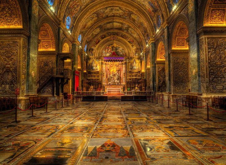 Kon-Katidral ta' San Ġwann - Maltese language for - Co ...