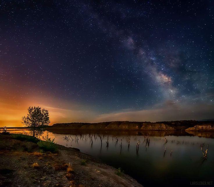 Pueblo Reservoir and the Milky Way Pueblo, Colorado