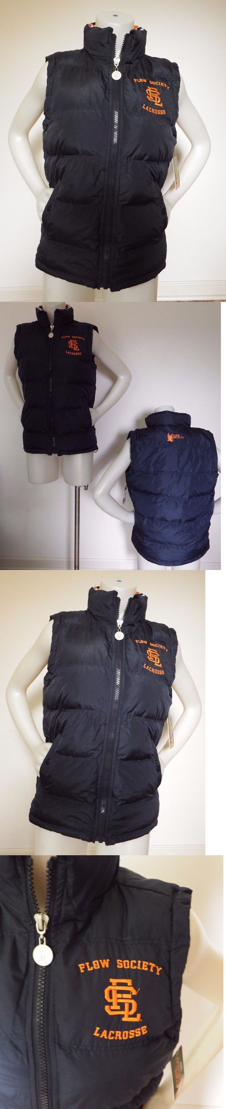 Clothing 159152: Flo Society Youth Small Argyle Puffer Vest Insulated Lacrosse Gear Navy -> BUY IT NOW ONLY: $65 on eBay!
