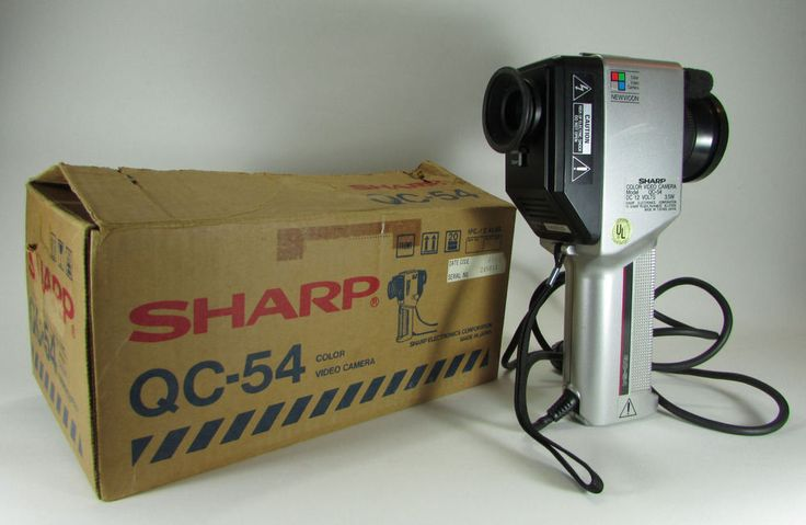 Vintage 1984 SHARP QC-54 NEWVICON Color Video Camera 10 Pin Type Videocam in Box #sharp #sharpelectronics #vintageelectronics #1980s #80s #videocamera #videocam #videocameras #videocams #vintagevideocamera #vintagevideocameras #antiquevideocamera #antiquevideocameras #newvicon #oldvideocamera #oldvideocameras #retrovideocamera #retrovideocameras #vidcam #vidcams