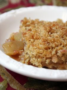 Easy Apple Brown Betty / The Prepared Pantry