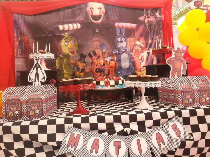 Five Nights At Freddy 168 S Birthday Party Ideas Birthday