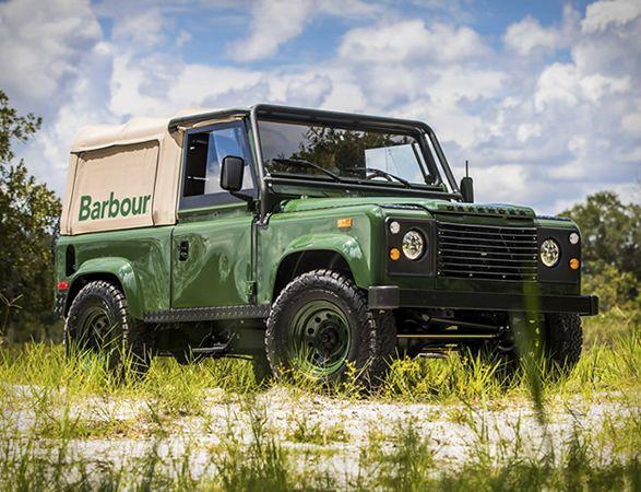 Barbour Orvis Defender Land Rover Defender Land Rover Defender