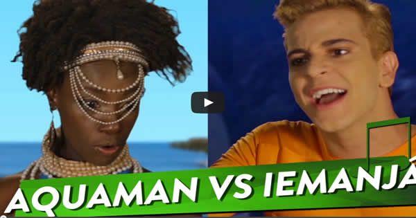 Aquaman Vs Iemanjá - Epic Repente Battles da História