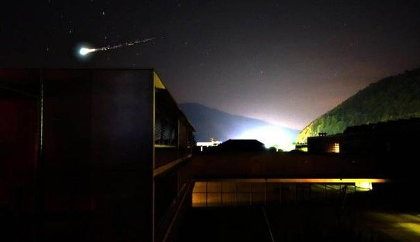 Meteorite 30 maggio 2017 nel Nord Italia, ecco cos'era. Il video