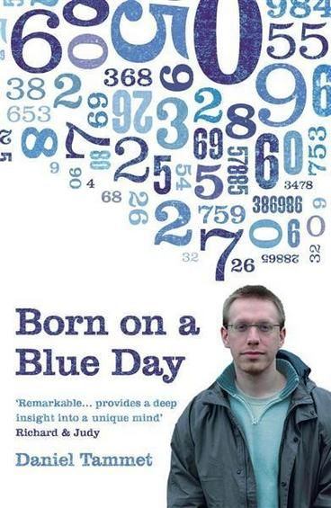 Born on a Blue Day by Daniel Tammet. Like the character Hoffman portrayed, he can perform extraordinary maths in his head, sees numbers as shapes, colours, textures and motions, and can learn to speak a language fluently from scratch in three days. He also has a compulsive need for order and routine. He eats exactly 45 grams of porridge for breakfast and cannot leave the house without counting the number of items of clothing he's wearing.
