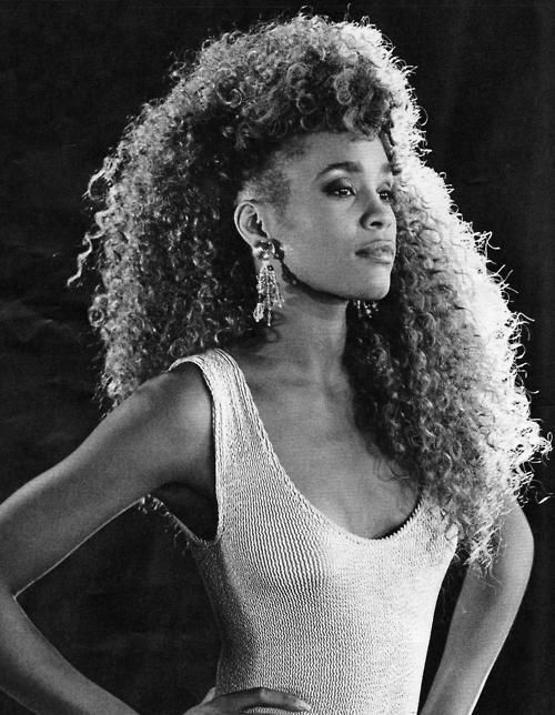 Whitney Houston...I wanted my hair just like this back in the day, lolol!  #missyougirl