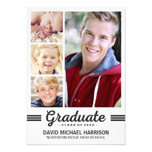 Graduation Announcement ideas for a senior boy
