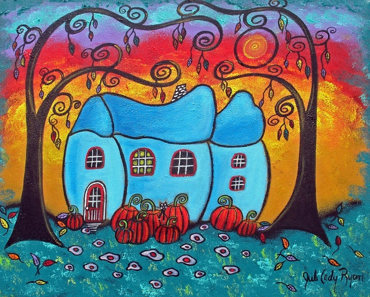 136 best Original Whimsical Paintings images on Pinterest