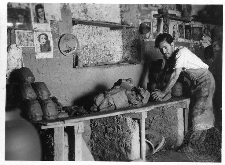 Dorothy Burr Thompson Αγγειοπλάστες στο Χαλάνδρι Αττικής το 1937