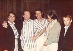 The Beach Boys when Glen Campbell was a member of the band.