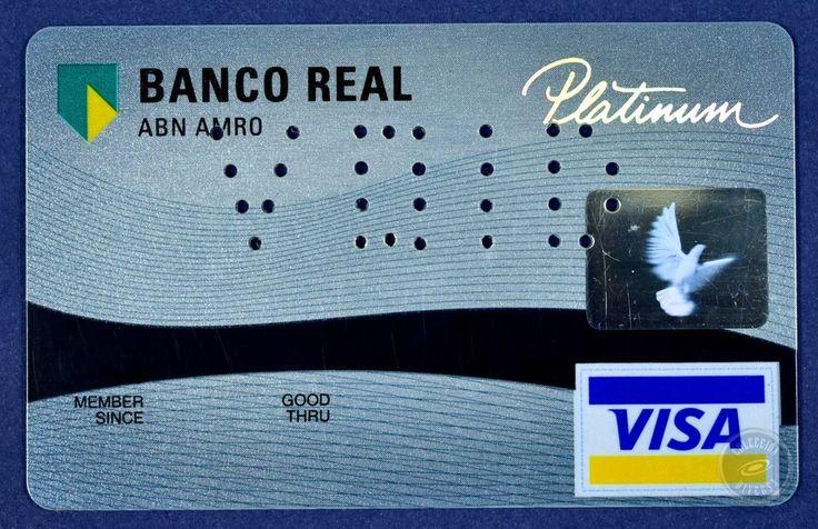 Specimen Credit Card Banco Real Brasil PLATINUM VISA