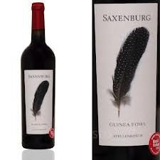 (South Africa - Stellenbosch) - 2011 - Saxenburg - Guinea Fowl Red - Big, bold and smokey - perfect for BBQ! +316992 Listed