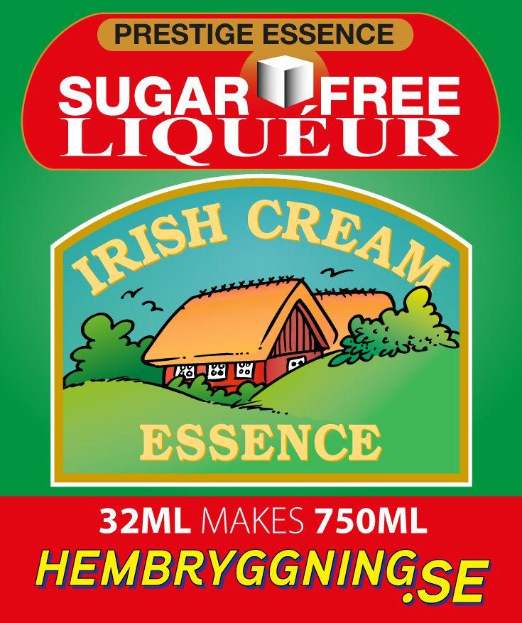 Första sockerfria Likör i världen. Efter flera års utveckling så introducerar vi nu en ny typ av essens. Sortimentet av sockerfria liköressenser har samma sötma som vanlig likör men utan socker. Blanda 20 ml flaskans med 750 ml alkohol. Enkelt och snabbt.