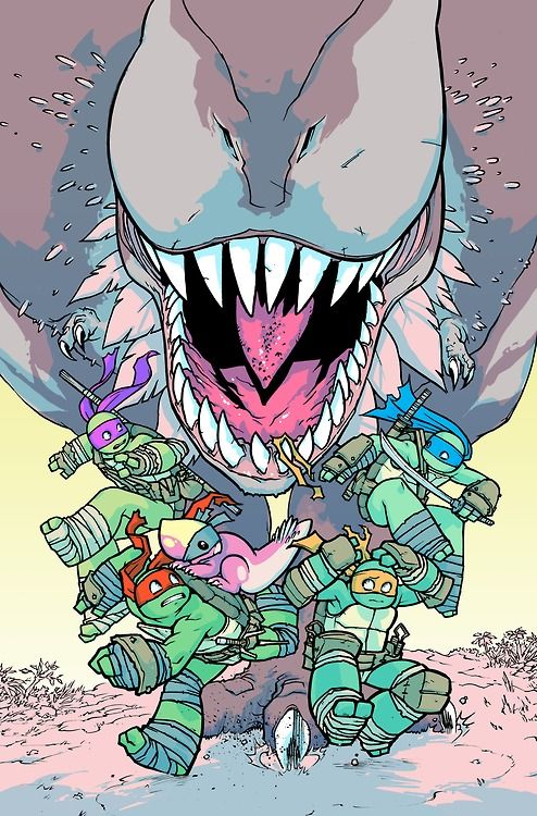 TMNT Turtles In Time #1 -Ross Campbell